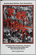 "Movie Posters:Documentary, The War at Home (New Front Films, 1980). One Sheet (27"" X 41""). Documentary.. ..."