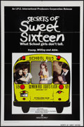 "Movie Posters:Sexploitation, Secrets of Sweet Sixteen and Other Lot (I.P.C., 1974). One Sheets(2) (27"" X 41""). Sexploitation.. ... (Total: 2 Items)"