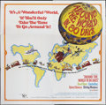 "Movie Posters:Adventure, Around the World in 80 Days (United Artists, R-1968). Six Sheet(81"" X 81""). Adventure.. ..."