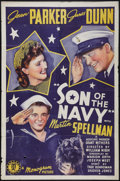 """Movie Posters:Comedy, Son of the Navy (Monogram, 1940). One Sheet (27"""" X 41""""). Comedy.. ..."""