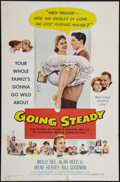 "Movie Posters:Comedy, Going Steady and Other Lot (Columbia, 1958). One Sheets (2) (27"" X 41""). Comedy.. ... (Total: 2 Items)"