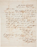 Autographs:Military Figures, Ulysses S. Grant Special Order Signed...