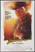 "Movie Posters:Action, Indiana Jones and the Last Crusade (Paramount, 1989). One Sheet(27"" X 40.5""). Advance. Action.. ..."