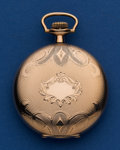 Timepieces:Pocket (post 1900), South Bend 16 Size Grade 204 Pocket Watch . ...