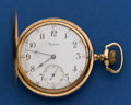Timepieces:Pocket (post 1900), Howard 17 Jewel 16 Size Hunter's Case Pocket Watch. ...