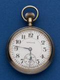 Timepieces:Pocket (post 1900), Hamilton 21 Jewel 992 Salesman's Sample. ...