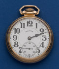 Timepieces:Pocket (post 1900), Illinois 21 Jewel Grade 161A Elinvar 60 Hour Bunn Special PocketWatch. ...