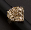 Estate Jewelry:Rings, Large Colored Diamond Ring. ...