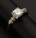 Estate Jewelry:Rings, Vintage Diamond Ring. ...