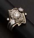 Estate Jewelry:Rings, Unique Gold & Diamond Ring. ...