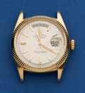 Timepieces:Wristwatch, Rolex 18k Gold Vintage President Wristwatch For Restoration Reference 6611. ...