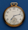 Timepieces:Pocket (post 1900), Hamilton 19 Jewel 14k Gold Grade 902 Pocket Watch. ...