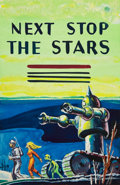 Art:Illustration Art - Pulp, EMSH (EDWARD EMSHWILLER) (American, 1925-1990). Next Stop theStars, preliminary paperback cover, 1962. Watercolora...