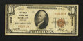 National Bank Notes:Kentucky, Harlan, KY - $10 1929 Ty. 1 The Harlan NB Ch. # 12295. ...