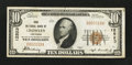 National Bank Notes:Louisiana, Crowley, LA - $10 1929 Ty. 1 First NB Ch. # 12523. ...