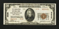 National Bank Notes:West Virginia, Charleston, WV - $20 1929 Ty. 2 The Charleston NB Ch. # 3236. ...