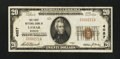 National Bank Notes:Missouri, Lamar, MO - $20 1929 Ty. 1 The First NB Ch. # 4057. ...
