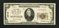National Bank Notes:Oklahoma, Muskogee, OK - $20 1929 Ty. 1 The Citizens NB Ch. # 12918. ...