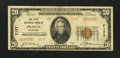 National Bank Notes:Oklahoma, Prague, OK - $20 1929 Ty. 2 The First NB Ch. # 7177. ...