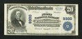 National Bank Notes:Virginia, Portsmouth, VA - $20 1902 Plain Back Fr. 652 The First NB Ch. #9300. ...