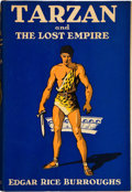 Books:First Editions, Edgar Rice Burroughs. Tarzan and the Lost Empire. New York:Metropolitan Books, 1929. First edition. Octavo. 313 pag...