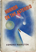 Books:First Editions, Edmond Hamilton. The Horror on the Asteroid, and OtherTales of Planetary Horror. London: Philip Allan, 1936. Oc...