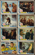 """Movie Posters:Adventure, Mutiny in the Arctic (Universal, 1941). Lobby Card Set of 8 (11"""" X14""""). Adventure.. ... (Total: 8 Items)"""