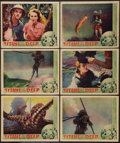 """Movie Posters:Documentary, Titans of the Deep (Grand National, 1938). Lobby Cards (6) (11"""" X 14""""). Documentary.. ... (Total: 6 Items)"""