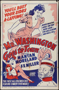 """Movie Posters:Black Films, Mr. Washington Goes to Town (Toddy Pictures, R-1940s). One Sheet(27"""" X 41""""). Black Films.. ..."""