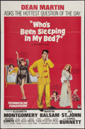 """Movie Posters:Comedy, Who's Been Sleeping in My Bed? and Other Lot (Paramount, 1963). One Sheets (2) (27"""" X 41""""). Comedy.. ... (Total: 2 Items)"""