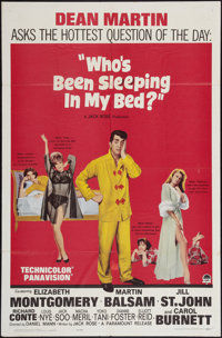 """Who's Been Sleeping in My Bed? and Other Lot (Paramount, 1963). One Sheets (2) (27"""" X 41""""). Comedy. ... (Total..."""