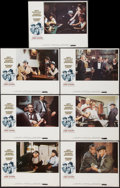 "Movie Posters:Crime, The Sting (Universal, 1974). Lobby Cards (7) (11"" X 14""). Crime..... (Total: 7 Items)"