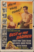 "Movie Posters:Western, Best of the Badmen (RKO, 1950). One Sheet (27"" X 41""). Western.. ..."