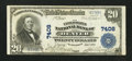 National Bank Notes:Colorado, Denver, CO - $20 1902 Plain Back Fr. 650 The United States NB Ch. #7408. ...