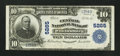 National Bank Notes:Pennsylvania, Wilkinsburg, PA - $10 1902 Plain Back Fr. 633 The Central NB Ch. # 5265. ...