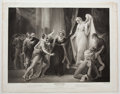 Antiques:Posters & Prints, Engraved Print from Boydell's Shakespeare Entitled,Winter's Tales. Cheapside: J. & J. Boydell, 1793...