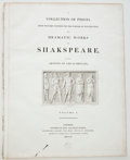 Antiques:Posters & Prints, Six Leaves from Boydell's Shakespeare, including: Title page [and:] Preface [and:] List of Plates. C...