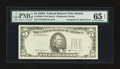 Error Notes:Third Printing on Reverse, Fr. 1980-F $5 1988A Federal Reserve Note. PMG Gem Uncirculated 65 EPQ.. ...