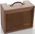 Musical Instruments:Amplifiers, PA, & Effects, 1960's DiArmond R 5T Brown Guitar Amplifier ...