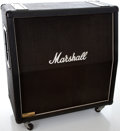 Musical Instruments:Amplifiers, PA, & Effects, Marshall 1960 AV Lead 4 x 12in Black Guitar Speaker Cabinet #1658...