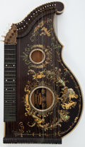 Musical Instruments:Miscellaneous, 1800's F.X. Lechner Munchen Zither ...