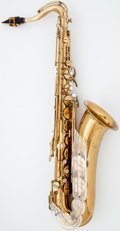 Musical Instruments:Horns & Wind Instruments, 1950's Keilwerth New King Brass Tenor Saxophone #24574...