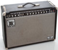 Musical Instruments:Amplifiers, PA, & Effects, 1970's Music Man 112 Sixty-Five Black Guitar Amplifier #BN01447...