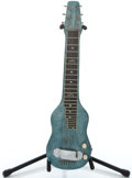 Musical Instruments:Lap Steel Guitars, Magnatone Project Blue Mots Lap Steel Guitar ...
