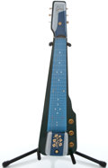 Musical Instruments:Lap Steel Guitars, 1956 Gibson Ultratone Seal Blue Lap Steel Guitar #612777...