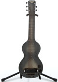 Musical Instruments:Lap Steel Guitars, 1940's Rickenbacher Electro Olive Lap Steel Guitar ...