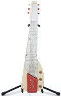 Musical Instruments:Lap Steel Guitars, 1950's Gibson Ultratone Peach White Lap Steel Guitar ...