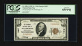 National Bank Notes:Pennsylvania, Pittsburgh, PA - $10 1929 Ty. 1 The Exchange NB Ch. # 1057. ...