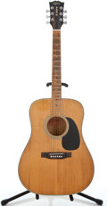 Musical Instruments:Acoustic Guitars, 1970's Aria Pro II PW-45 Natural Acoustic Guitar #007...