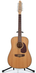 Musical Instruments:Acoustic Guitars, Fender Santa Maria Natural 12 String Acoustic Guitar #90114102...
